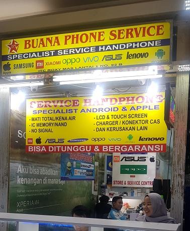 service ganti kaca iphone samsung android