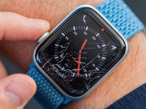 ganti kaca depan iwatch