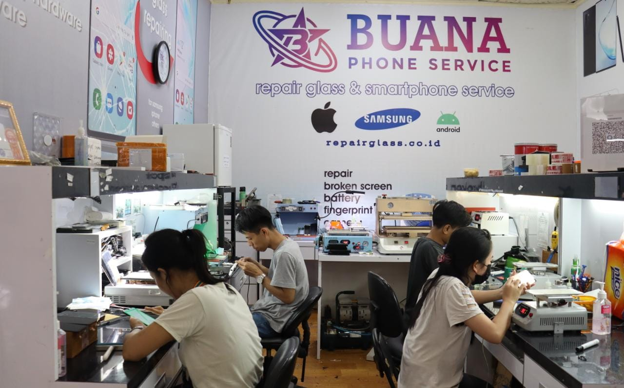 Tempat Ganti Kaca Handphone Jakarta